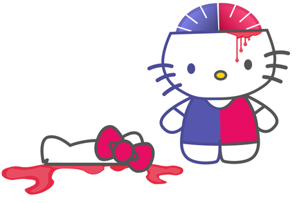 Hello Kitty Brain